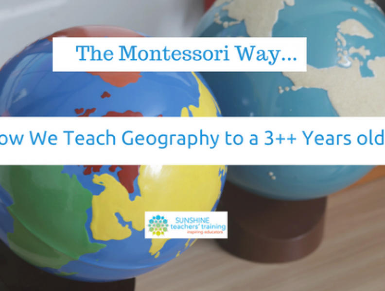 how to teach geography to preschoolers